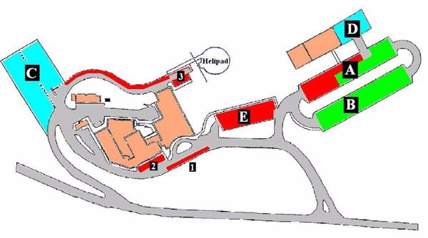 PHH Brookville Parking Map
